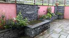 Concrete Slate Effect Walling 50 Slate Grey Including Delivery (few exceptions).