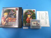 METAL SLUG 1st Mission NeoGeo Pocket Coler Used From Japan 93736