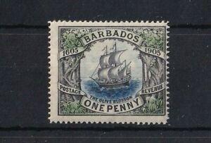 BARBADOS 1906 TERCENTENARY OF ANNEXATION SG152 MM