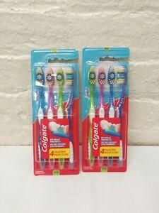 8 count, Colgate Extra Clean Full Head Toothbrush Medium