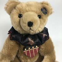 "Knickerbocker Mr. Doodle Teddy Bear Jointed Teddy 12"" Plush Bag & Brush"