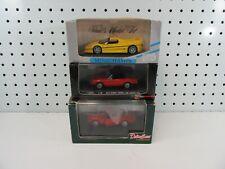 1/43 3 x sports cars Minichamps/detail cars / High Speed - Ferrari/Alfa Romeo
