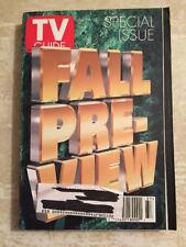 Vintage 1995 Sept. 16-22 TV Guide - Fall Pre-View on Cover / Special Issue