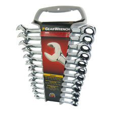 Gearwrench 12 Piece Metric Open End Ratcheting Wrench Set 85597