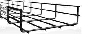 200mm X 60mm Cable Basket Tray Black C8 (Pemsa Rejiband) 3M Length x 2 Quantity