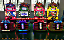 Kids Outrun Simulator Arcade Racing Car Game Commercial Coin Operated 4 Player