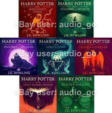 Harry Potter Unabridged Audiobooks Narrated by Stephen Fry & Jim Dale