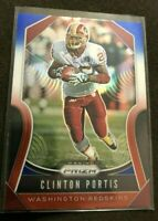 SP Football Card 2019 Panini Prizm CLINTON PORTIS Red White And Blue Prizm MINT