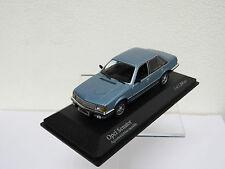 Opel Senator 1980 Blue Metallic Minichamps 400045102 1/43