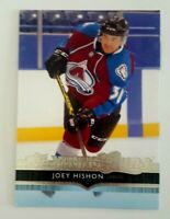 Joey Hishon 2014-15 Upper Deck Hockey Young Guns Rookie RC #216 Avalanche