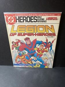 DC HEROES ROLE PLAYING MODULE GAMEBOOKS #213 LEGION OF SUPER-HEROES VOLUME 1
