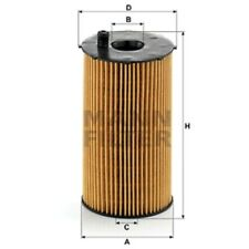 Mann Oil Filter Element Metal Free For Jaguar XF 2.7 D