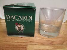 """Rare Boston Celtics Bacardi 3.5"""" Etched Glass in Original Box"""