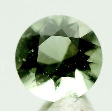 RARE Faceted Moldavite Meteorite Impact Impactite Tektite Loose Gemstone Jewelry