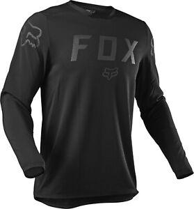 Fox Legion LT Enduro Offroad Motocross MX Jersey Black Adults