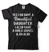 Gift for Father Mens Funny T-shirt Gift from Daughter to Dad Father's day tee