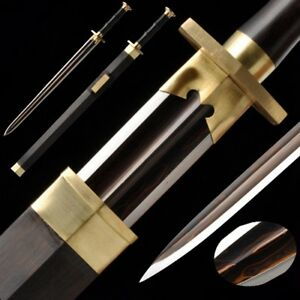 Su Zhuang Small Sweat Sword Hand Forged Pattern Steel Pure Copper Fittings #5066