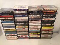 71 POP/ROCK Cassette Tape Lot Classic Rock Stones Santana Bread U2 70s-80s