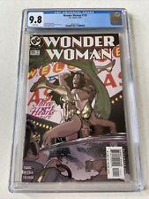 Wonder Woman #155 CGC 9.8 WP Adam Hughes Cover Art DC Comics 2000 NM+