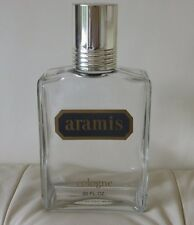 """VINTAGE ARAMIS COLOGNE 32 FL. OZ. Empty Bottle, Made in Italy 9 3/4"""" H by 5"""" W"""