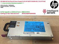 HP 460W HE Hot Plug AC Power Supply To Fit HP G6/G7 503296-B21 / 511777-001
