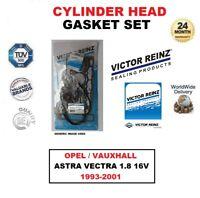 Victor Reinz Set Joint de Culasse pour Opel Astra Vectra 1.8 16V 1993-2001