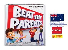 Spin Master Games Beat The Parents Family Challenge Board Game Cards Medals