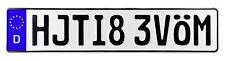 MOVE BITCH German License Plate