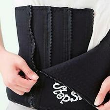 HOT Slimming Belt Women Men Body Waist Trainer Shaper Adjustable Tummy Corset Q