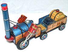 Vintage Latta Piastra STEPHENSONS Rocket Primo Treno Loco FRIZIONE Toy Modern Toys