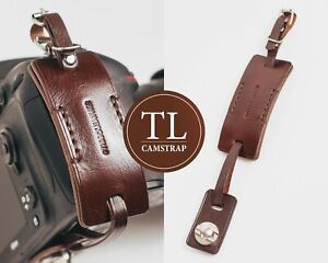 Camera wrist strap Leather DSLR hand strap Personalized Photographer gift