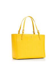 EEUC Tory Burch York Buckle Small Saffiano Tote in Sunshine Yellow handbag