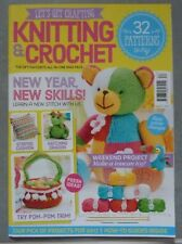 LETS GET CRAFTING - KNITTING & CROCHET MAGAZINE ISSUE 87 JANUARY 2017