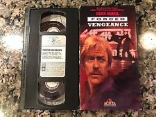 Forced Vengeance Vhs! 1982 Casino Action! The Octagon Lone Wolf McQuade