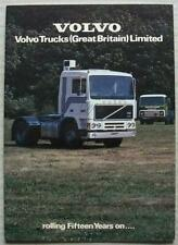 VOLVO TRUCKS GB LIMITED Commercial Publicity Brochure c1983