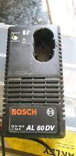 BOSCH AL 60DV  7.2 / 12V BATTERY CHARGER AL60DV  power  tools