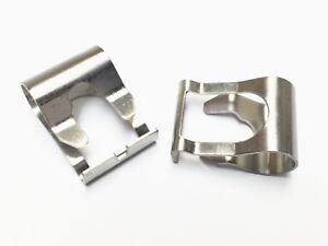2x Windscreen Wiper Link Linkage Rods Repair Clip Spring - 5 YEAR GUARANTEE