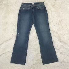 Joie Straight Boot Cut Denim Jeans Medium Wash Cotton Size 27