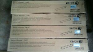 Xerox phaser 7800 toner set of 4 BCYM