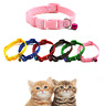 Love pet Care Small Footprint With Bell Pet Collar Fabric Cat Kitten Dog Puppy