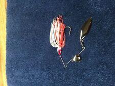 1/4 oz Spinner Bait Red White