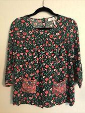MATILDA JANE 435 Once Upon A Time Dreamland Girls Size 16 Floral Tunic Shirt EUC