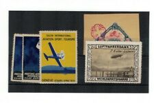 Lot AM33 Airmail 'Stamps, and Airmail Covers to Switzerland -See Scan