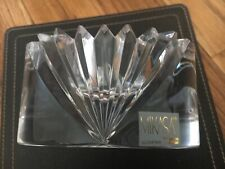 Mikasa Crystal Candle Holder Candle or Trinket Dish - Solid Beauty