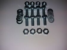 VW Bumper Iron to Chassis Bolt Set - Bolts for One Bumper - Beetle, Camper Etc