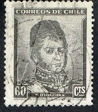 CHILE STAMP RPO RAILWAY CANCEL AMBULANCIA # 21