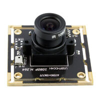 H.264 2.8mm Lens Audio CMOS Module Board 2MP Webcam Video 1080P For Raspberry Pi