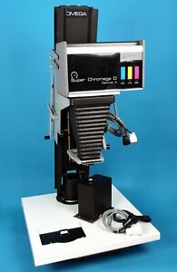 "Omega Super Chromega D Dichroic II 4X5"" Color Enlarger good condition 13172"