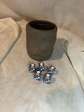 Pirates of the Caribbean 5 Skull Pirate DICE And 1 Cup Game Replacement 2006