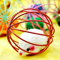 Playing Toys False Mouse in Rat Cage Ball For Pet Cat Kitten Gifts Cute